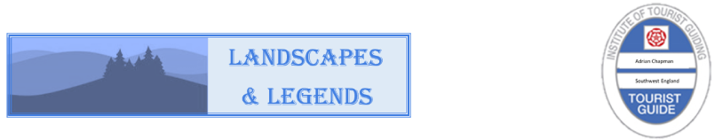 Landscapes and Legends Logo and Logo for Blue Badge Guides