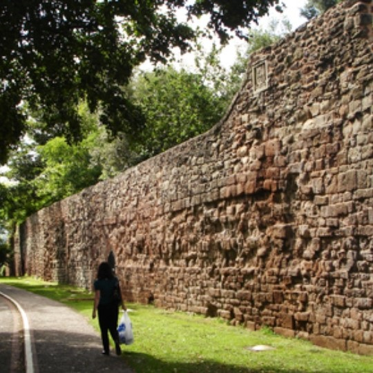 Roman Wall in Exeter